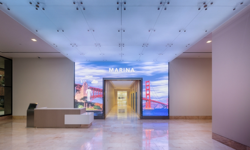 video wall examples